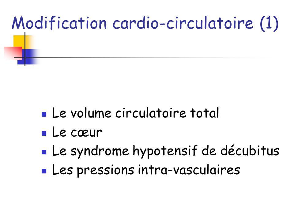 Modification cardio-circulatoire (1)
