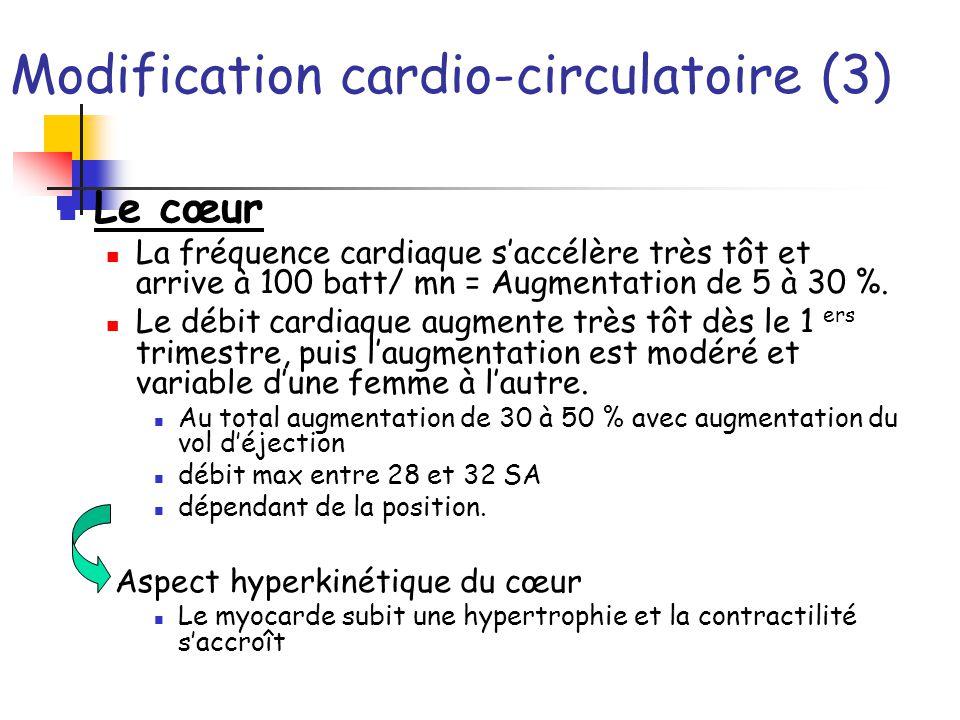 Modification cardio-circulatoire (3)