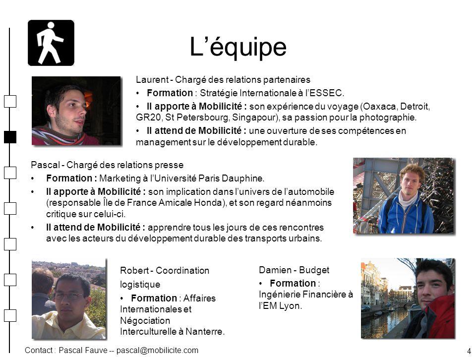 L'équipe Laurent - Chargé des relations partenaires