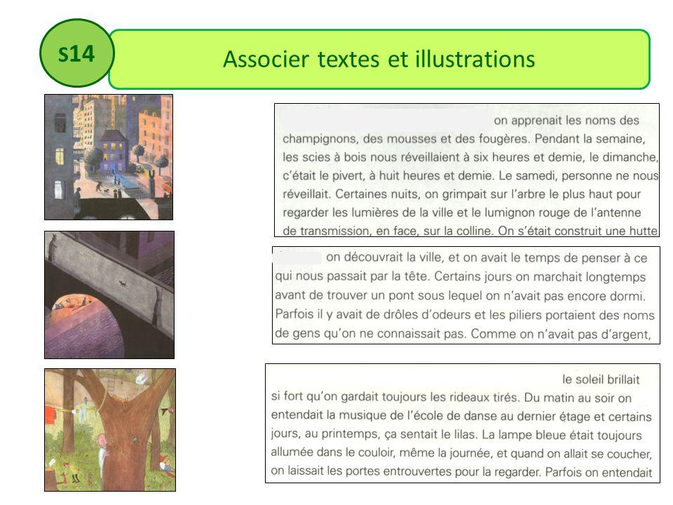Associer textes et illustrations