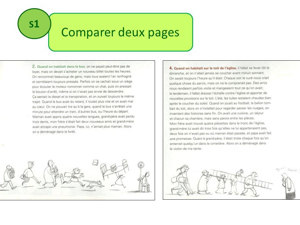 S1 Comparer deux pages