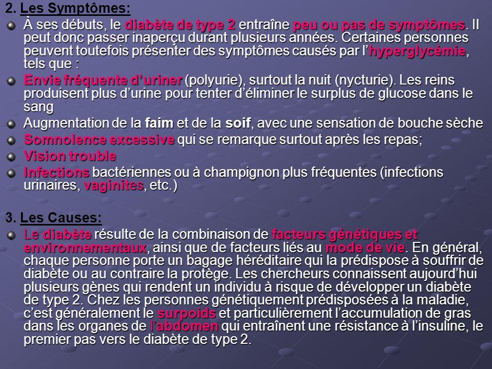 2. Les Symptômes: