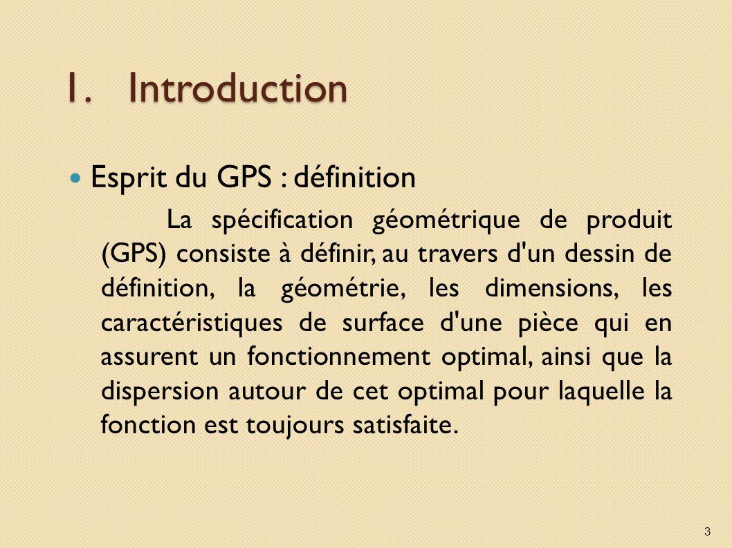 Introduction Esprit du GPS : définition