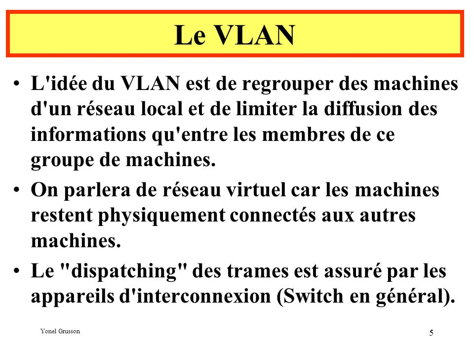 Le VLAN