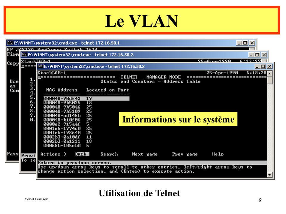 Informations sur le système