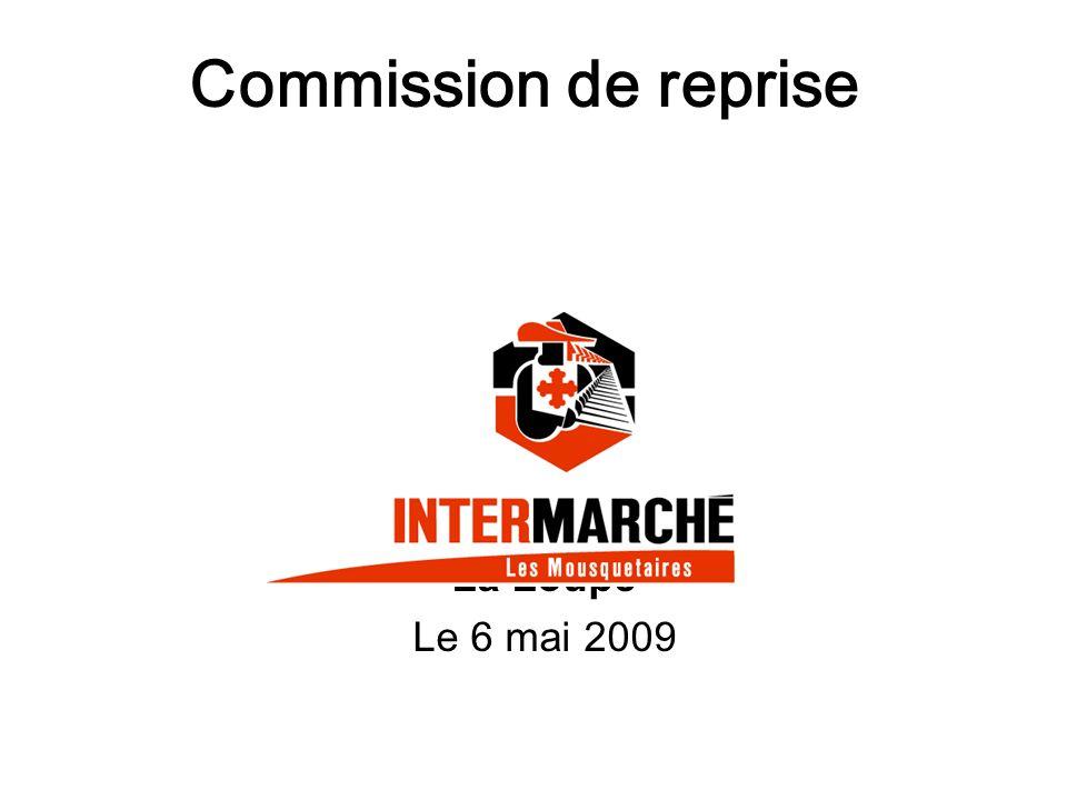 Commission de reprise La Loupe Le 6 mai 2009