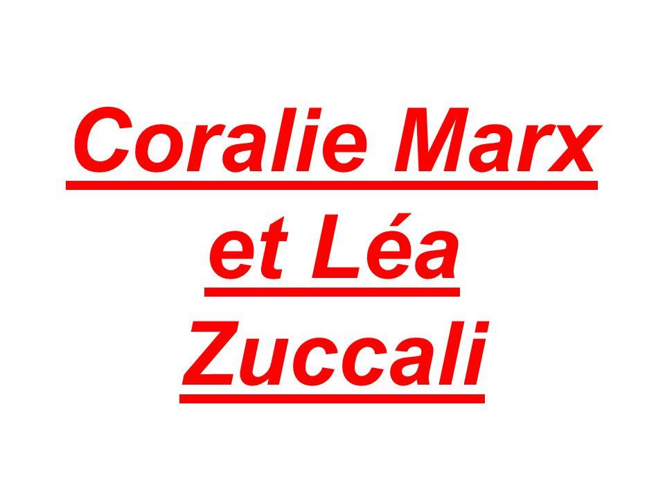 Coralie Marx et Léa Zuccali