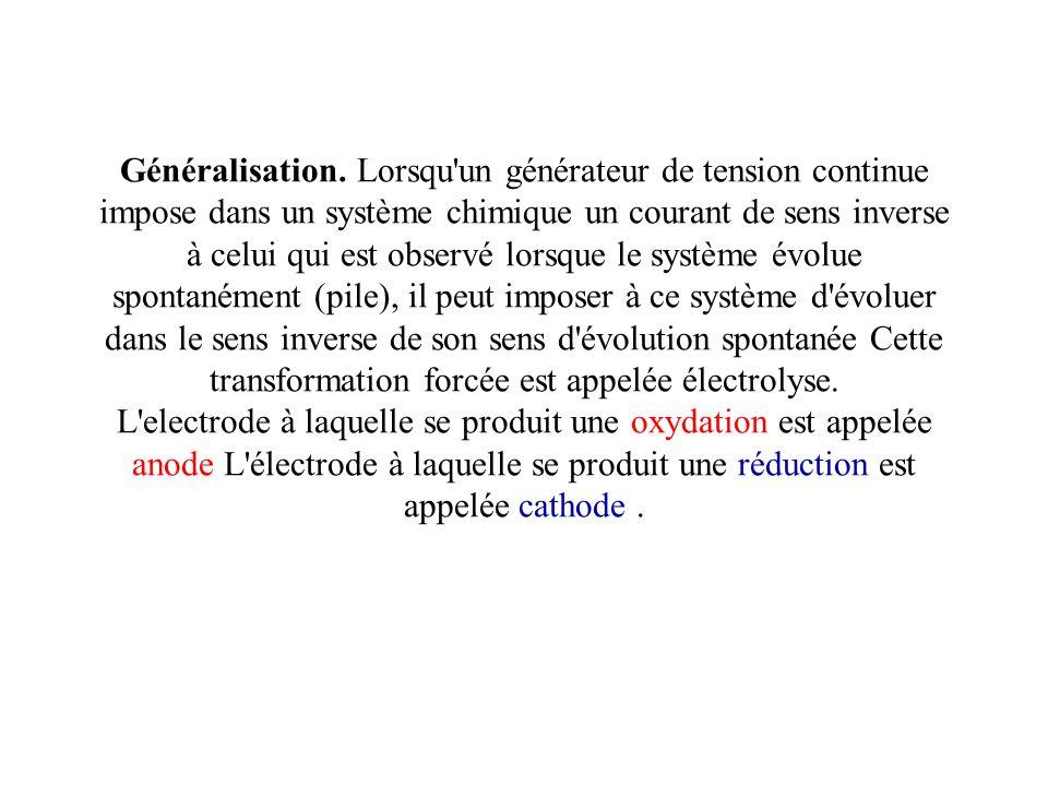 Généralisation.