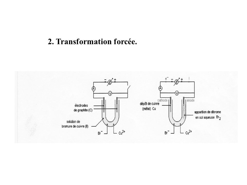 2. Transformation forcée.