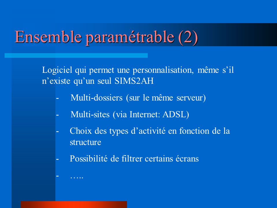 Ensemble paramétrable (2)