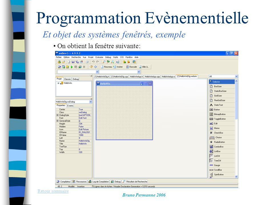 Programmation Evènementielle