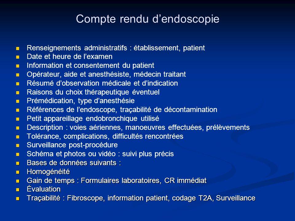 Compte rendu d'endoscopie