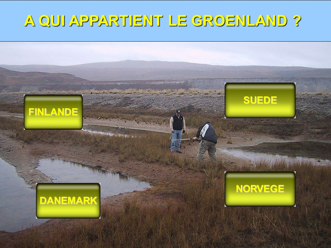 A QUI APPARTIENT LE GROENLAND