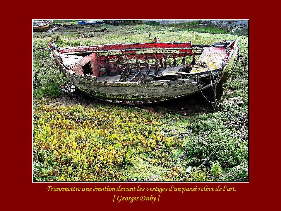 Transmettre une émotion devant les vestiges d un passé relève de l art.