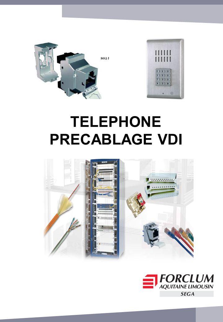 TELEPHONE PRECABLAGE VDI
