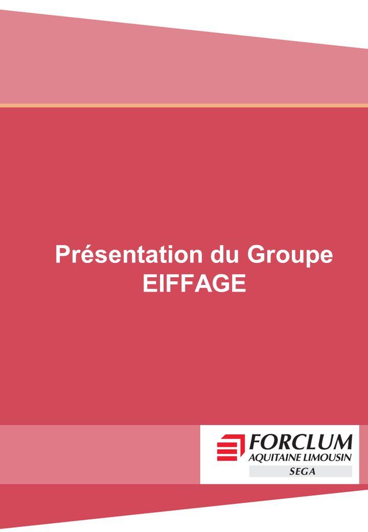 Présentation du Groupe EIFFAGE