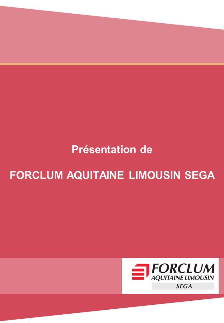 Présentation de FORCLUM AQUITAINE LIMOUSIN SEGA
