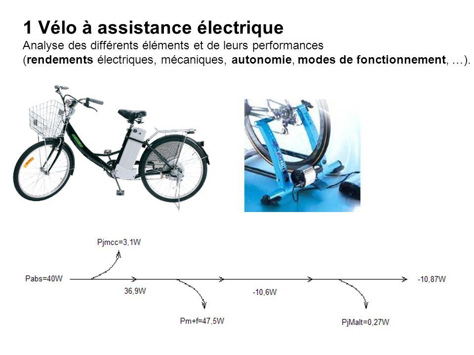 1 Vélo à assistance électrique