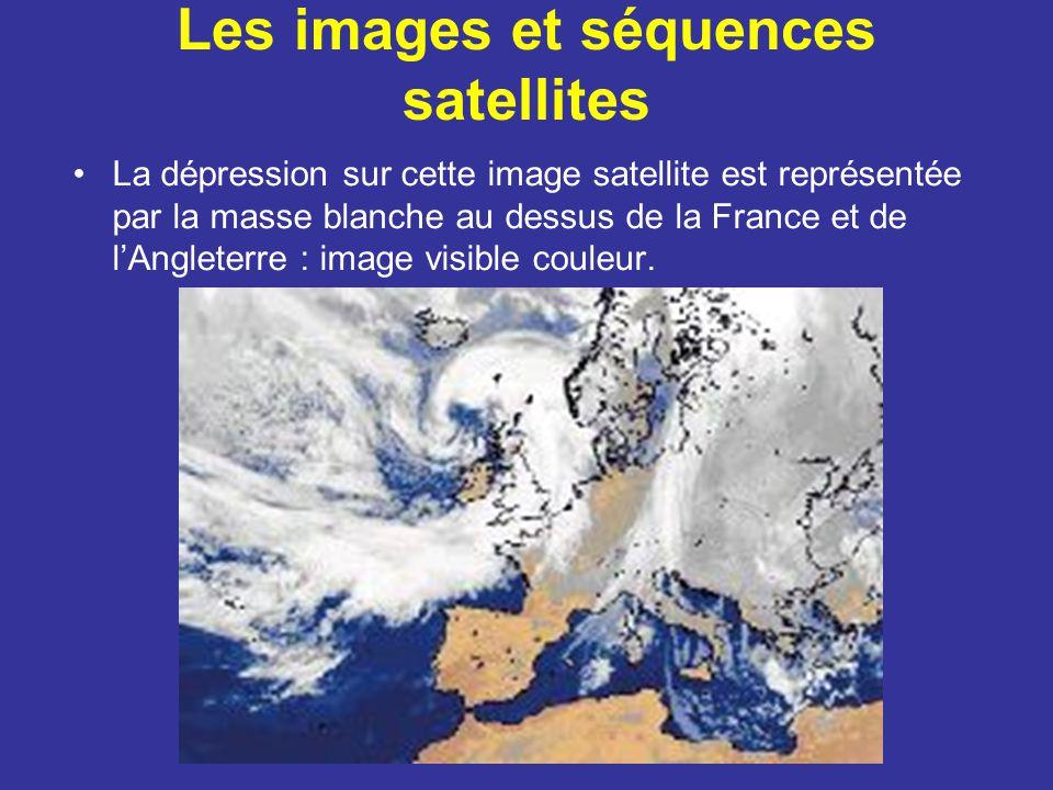 Les images et séquences satellites
