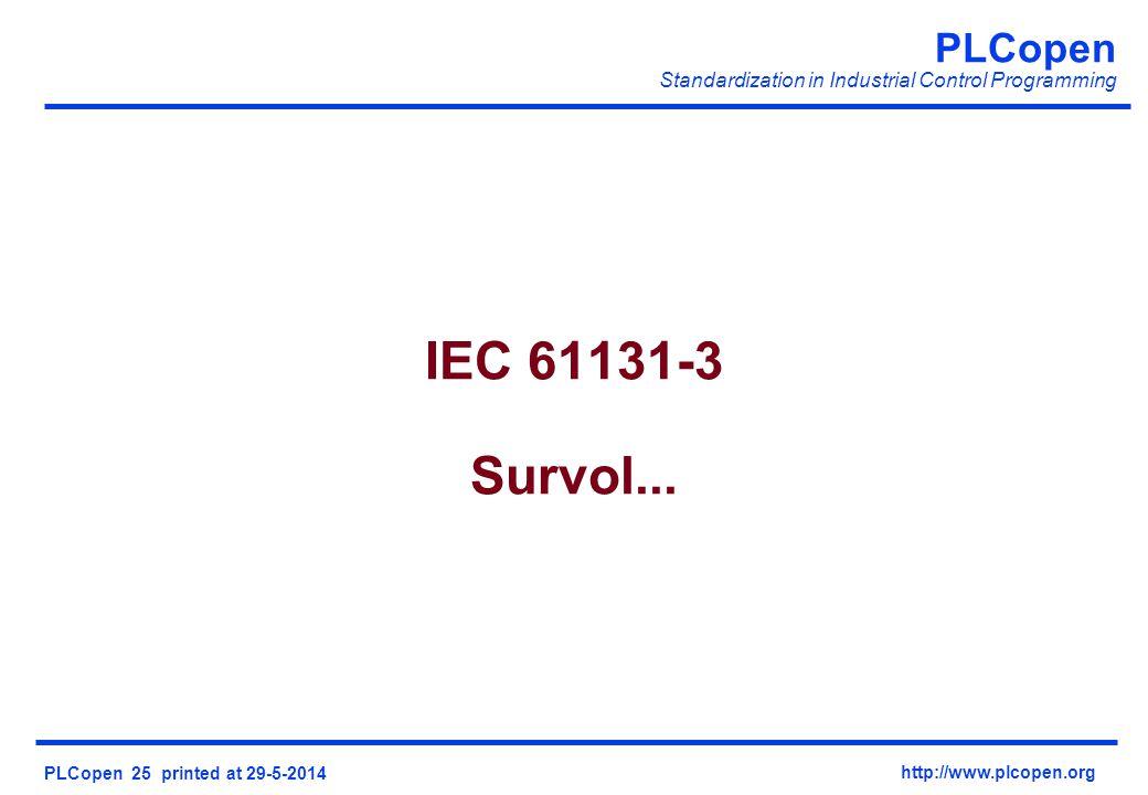IEC 61131-3 Survol...