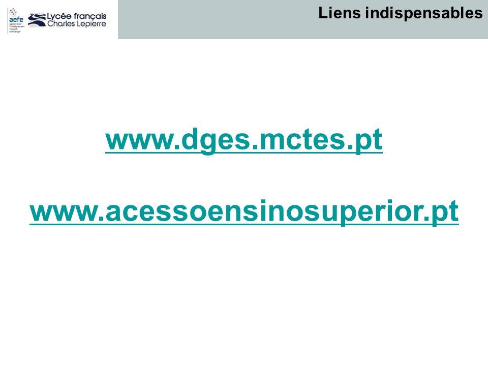 www.dges.mctes.pt www.acessoensinosuperior.pt