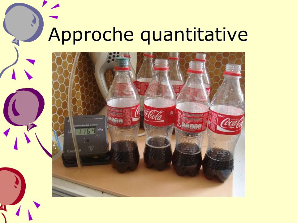 Approche quantitative