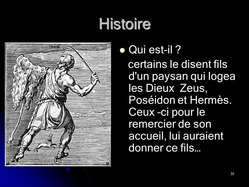 Histoire Qui est-il