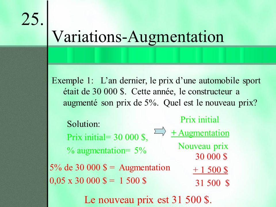 Variations-Augmentation