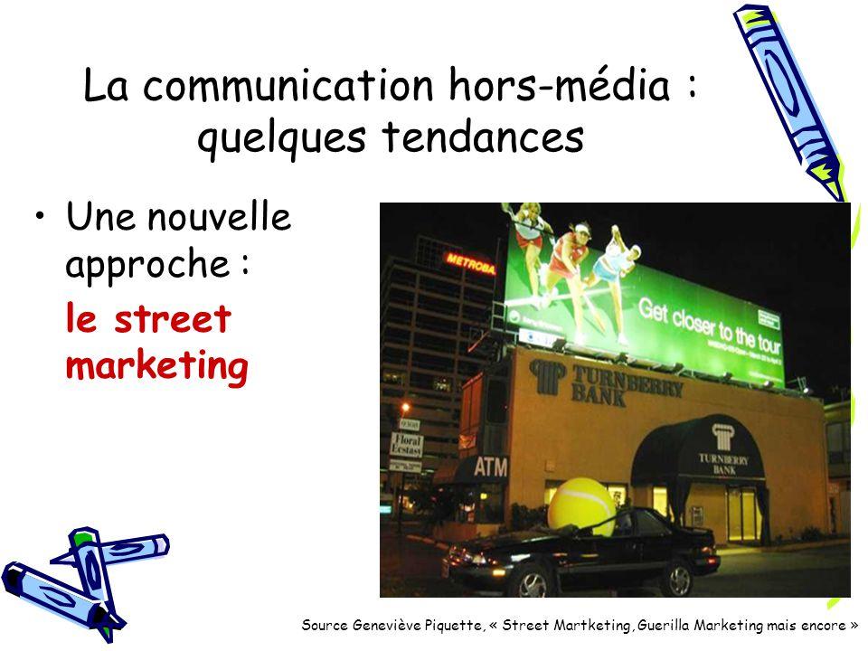 La communication hors-média : quelques tendances