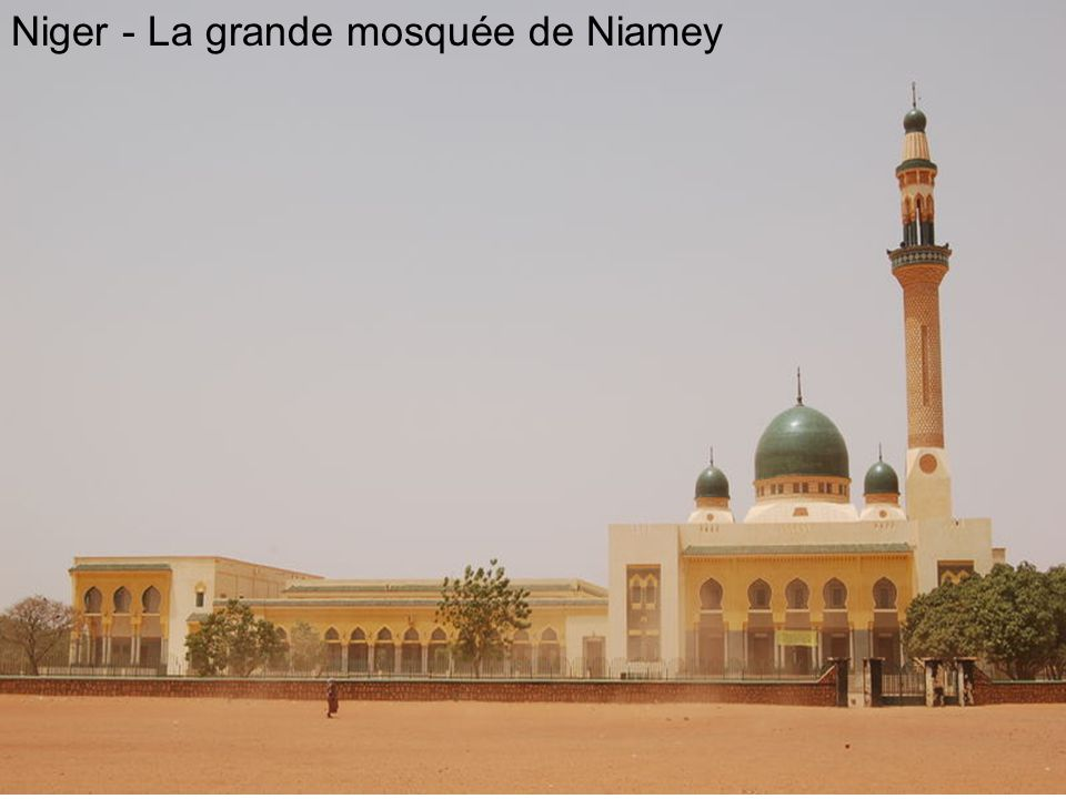Niger - La grande mosquée de Niamey