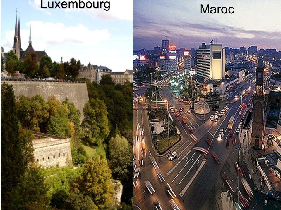 Luxembourg Maroc Maroc