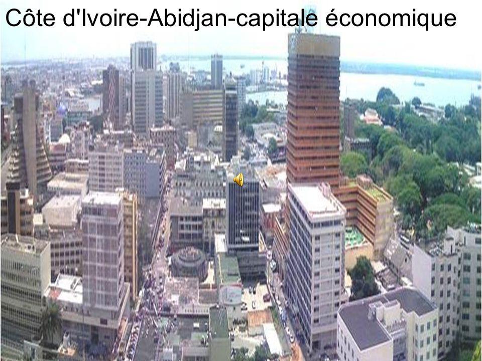 Côte d Ivoire-Abidjan-capitale économique