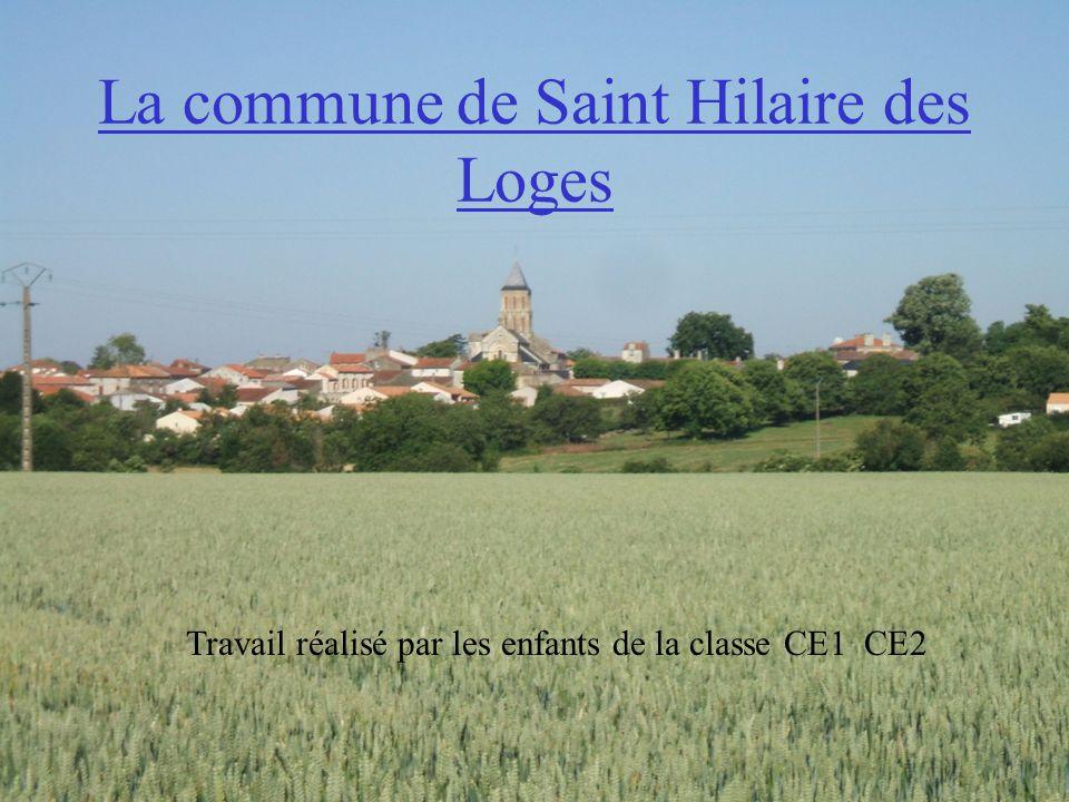 La commune de Saint Hilaire des Loges