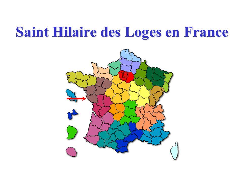 Saint Hilaire des Loges en France