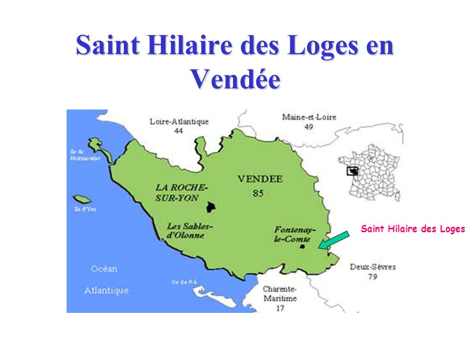 Saint Hilaire des Loges en Vendée