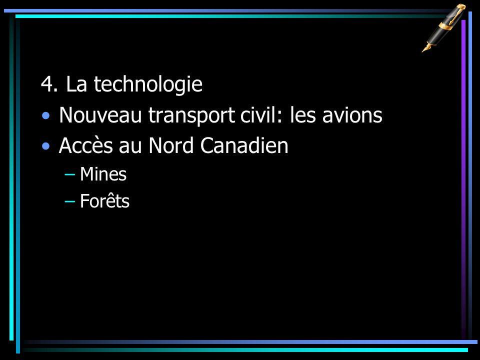 Nouveau transport civil: les avions Accès au Nord Canadien