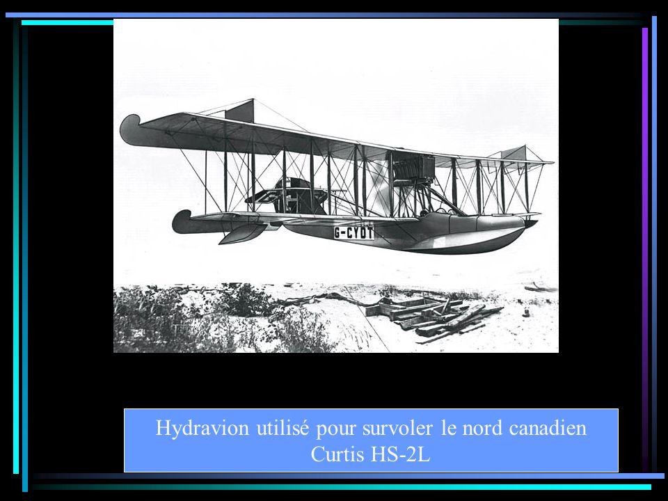 Hydravion utilisé pour survoler le nord canadien