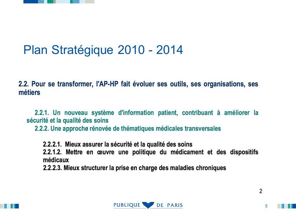Plan Stratégique 2010 - 2014