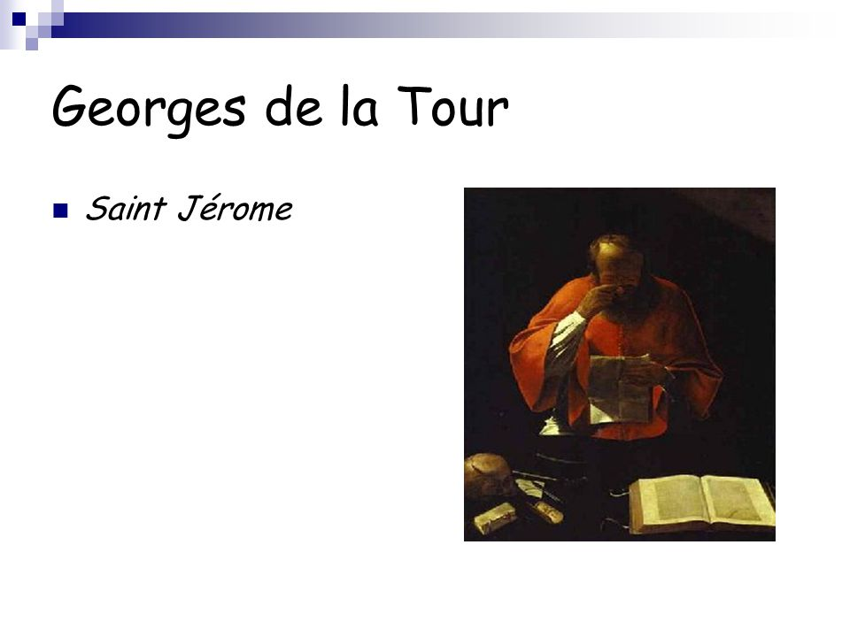 Georges de la Tour Saint Jérome