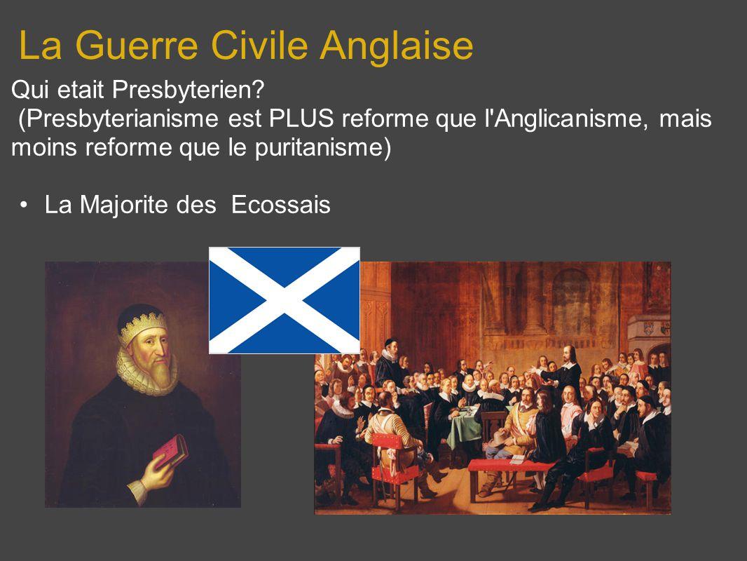 La Guerre Civile Anglaise