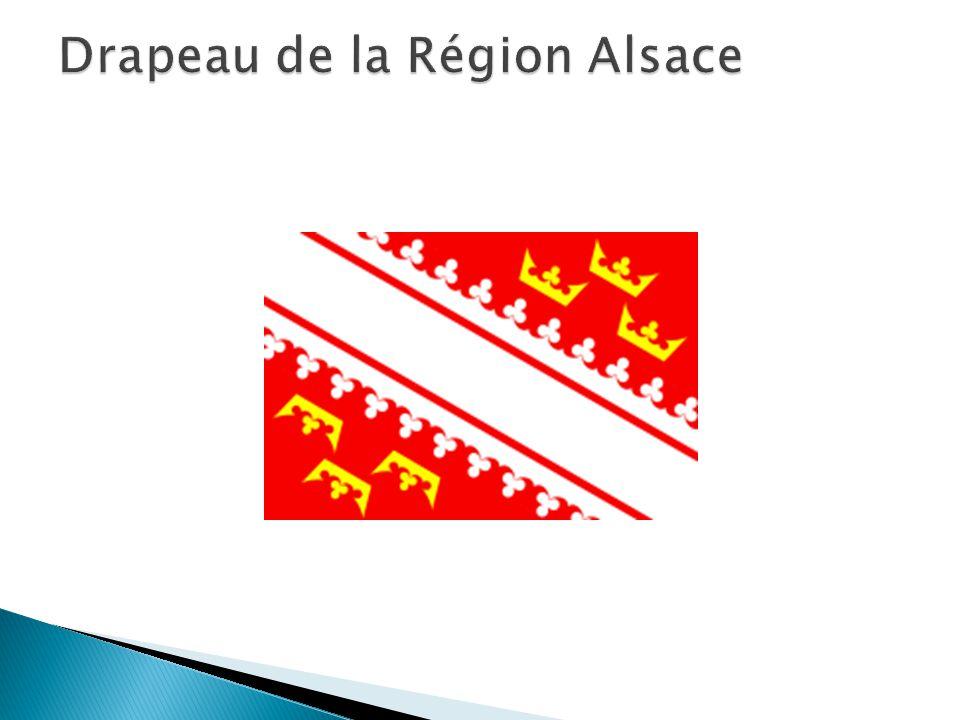 Drapeau de la Région Alsace