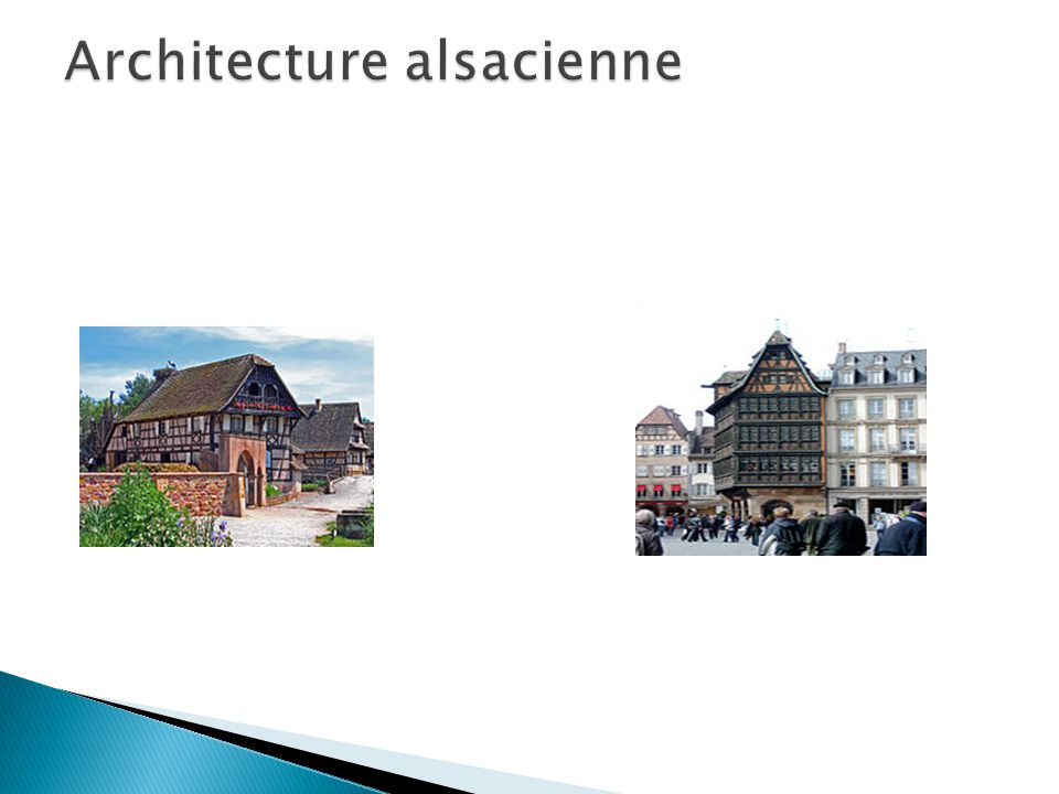 Architecture alsacienne