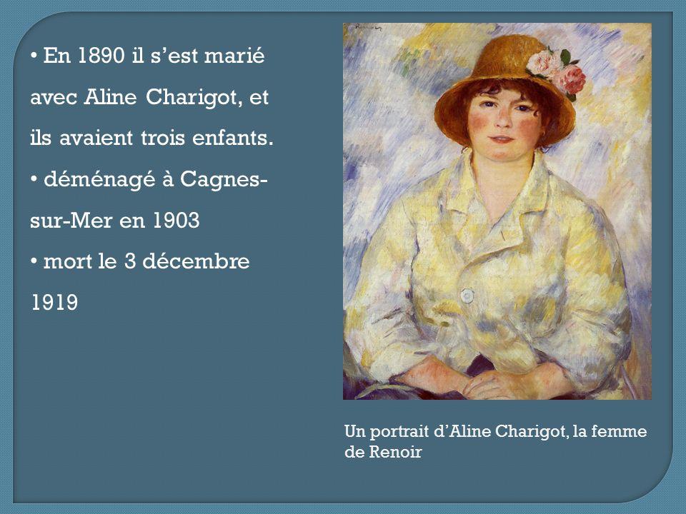 déménagé à Cagnes-sur-Mer en 1903