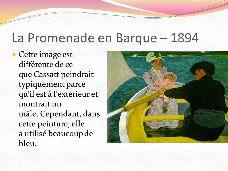 La Promenade en Barque – 1894