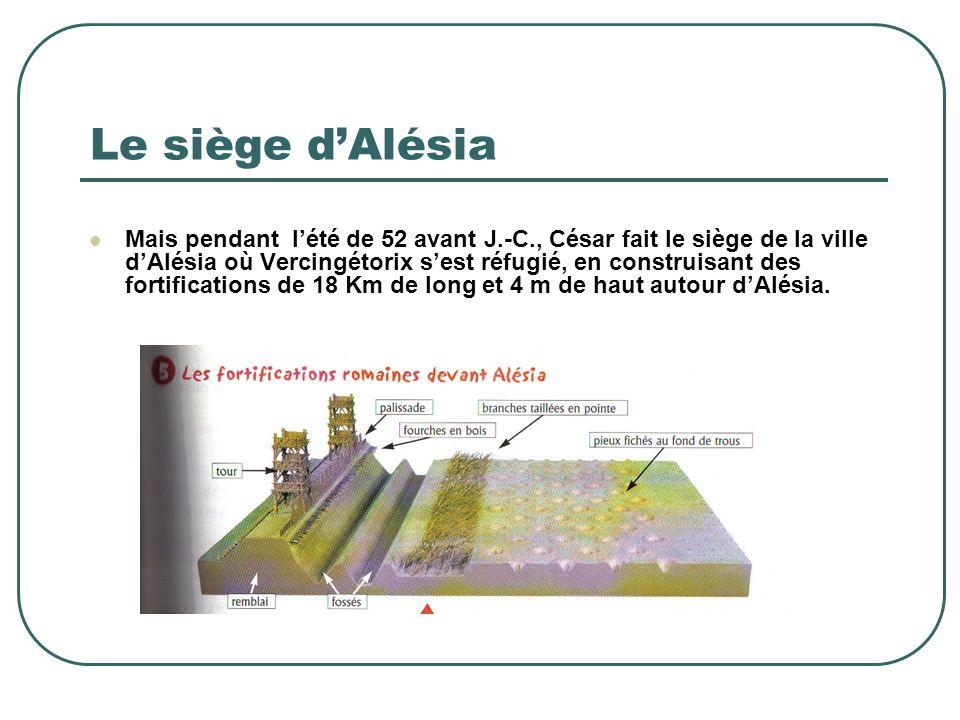 Le siège d'Alésia