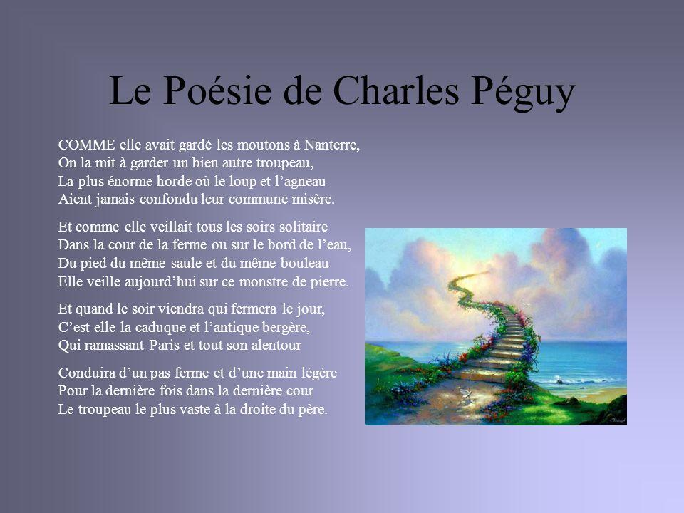 Le Poésie de Charles Péguy