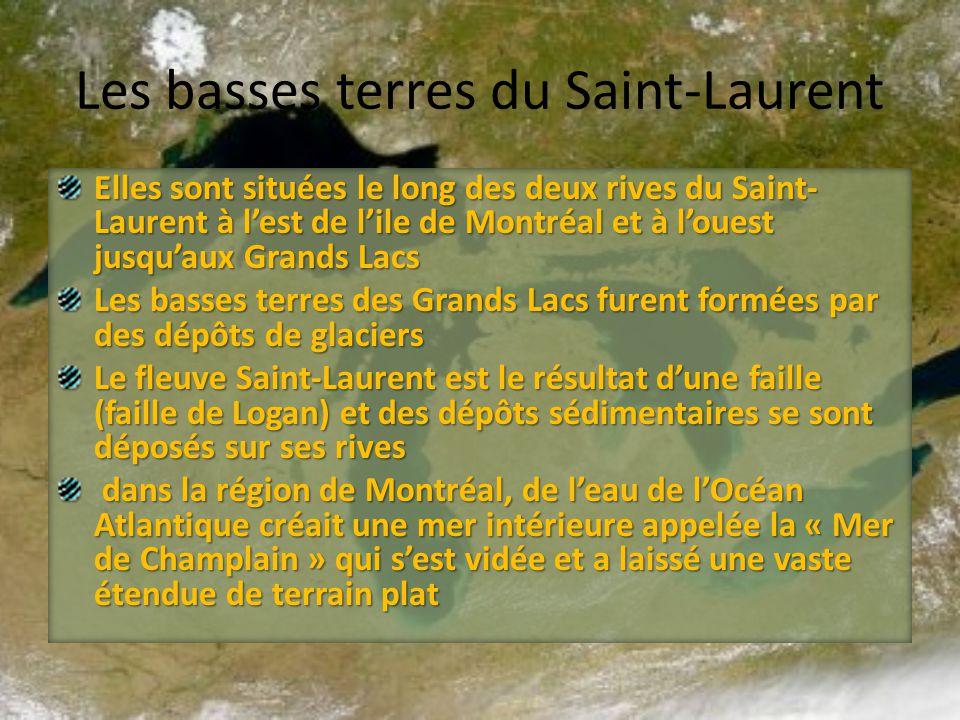 Les basses terres du Saint-Laurent