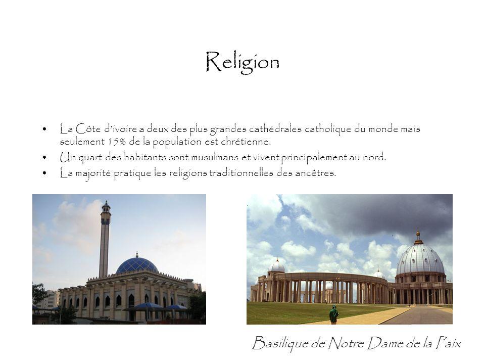 Religion Basilique de Notre Dame de la Paix