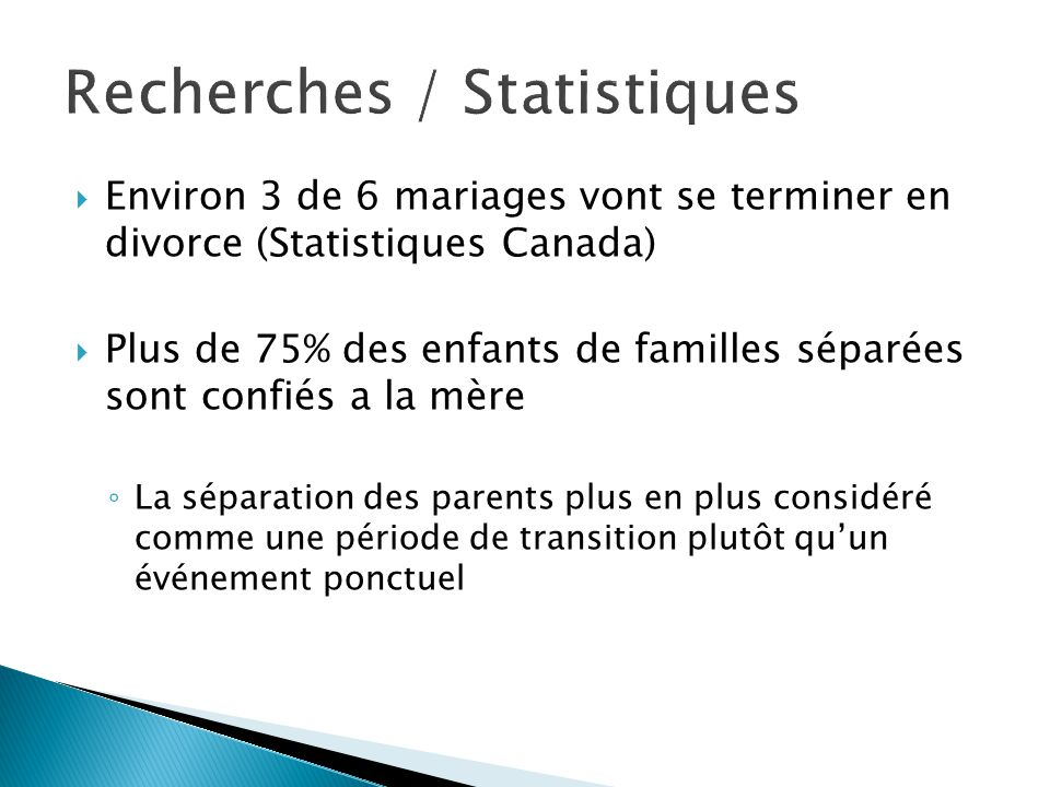 Recherches / Statistiques