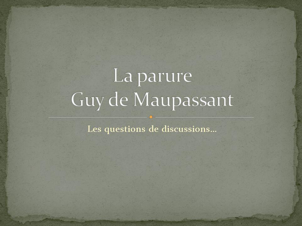 La parure Guy de Maupassant